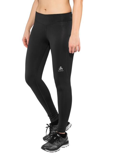 Odlo BL Smooth Soft Pantalones largos running Mujer, black